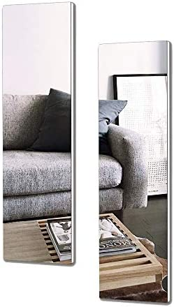 Facilehome Wall Mounted Dressing Full Length Mirror Framele