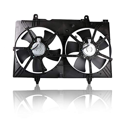MOSTPLUS Dual Radiator Cooling Fan Assembly for 03-06 Nissan 350Z 03-07 Infiniti G35 3.5L ()