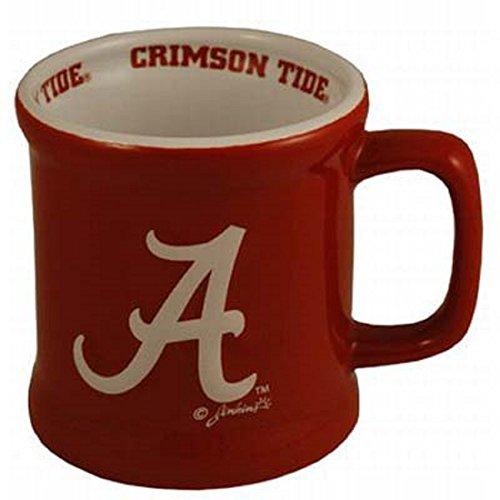Sports Team Accessories Alabama Crimson Tide Ceramic Relief Mug Alabama Crimson Tide Coffee