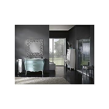 Mobile Badezimmer Möbel lackiert Wasser Marina Swarovski mit Spiegel ...