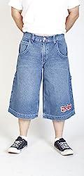 JNCO Men's First Class Originals Carpenter Jean Shorts (30)