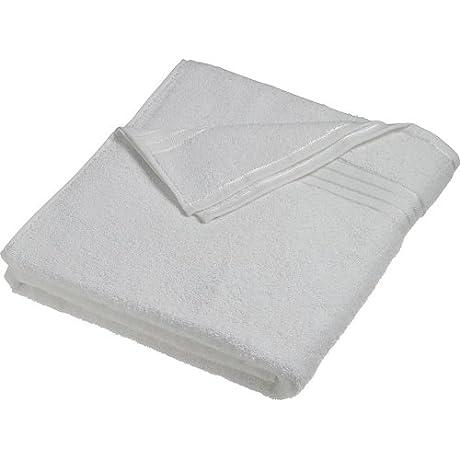 MYRTLE BEACH Myrtle Beach Mb422 Bath Towel 70 X 140 Cm 100 X 150 Cm White