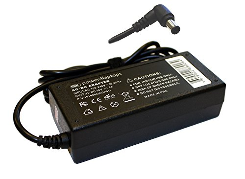 Power4Laptops AC Adapter Charger Power Supply for Sony Vaio PCGA-AC16V6, Sony Vaio PCGA-AC16-V6, Sony Vaio PCGA-AC16V8, Sony Vaio PCGA-AC51, Sony Vaio PCGA-AC5E
