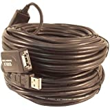 Your Cable Store 80 Foot USB 2.0 High Speed Active Extension/Repeater Cable