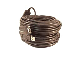 Your Cable Store 80 Foot USB 2.0 High Speed Active Extension / Repeater Cable