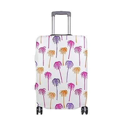 Saobao Travel Luggage Tag Cute Pastel Elephant PU Leather Baggage Suitcase Travel ID Bag Tag 1Pcs