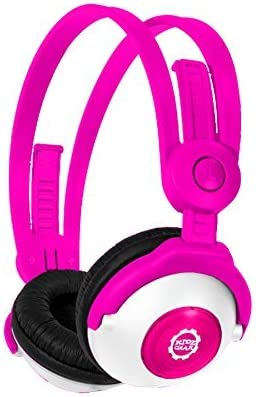 Kidz Gear Bluetooth Stereo Headphones for Kids – PNK