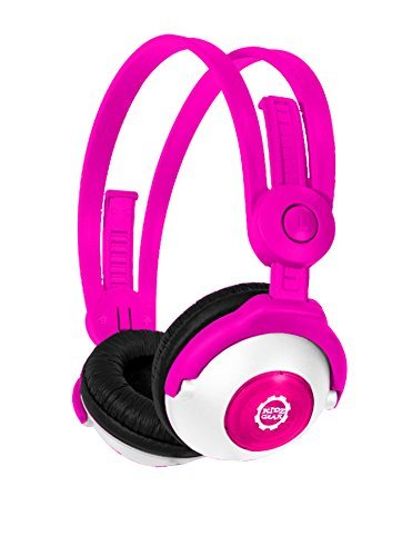 Kidz Gear Bluetooth Stereo Headphones for Kids - PNK