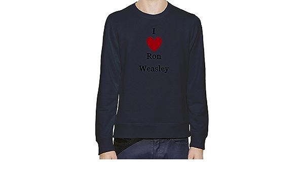 I Love Ron Weasley Sudadera Hombres Mujeres XX-Large: Amazon ...