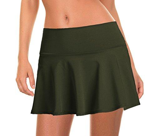 Beachcoco Women's Swim/Beach Cover-up Skirt (XL, (Green Womens Skirt Suit)