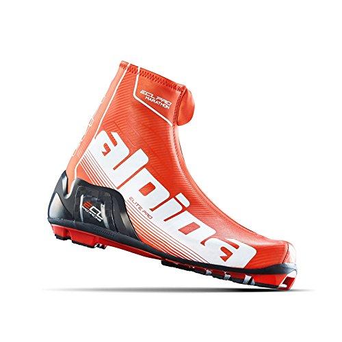 Alpina Men's ECL Pro Marathon Classic Boots Red/Black/White - 45