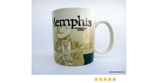 Starbucks Global Icon Collector Series Mug Memphis 16 Fl Oz Coffee Cups Mugs Amazon Com