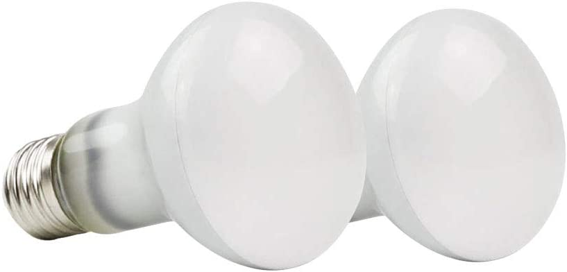 MD Lighting 100W UVA Basking Spot Heat Lamp Bulbs(2 Pack), 110V Reptile Mercury Vapor Bulbs Soft White Poly Sand Light Dome Bulb for Reptile and Amphibian Use, as Tortoise Lizard