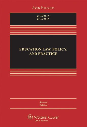 Education Law Policy & Practice: Cases and Materials 2e