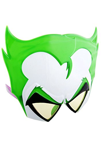 Costume Sunglasses Joker Sun-Staches Party Favors UV400]()