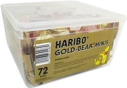 Gummi Bear Minis by Haribo 72ct. Tub