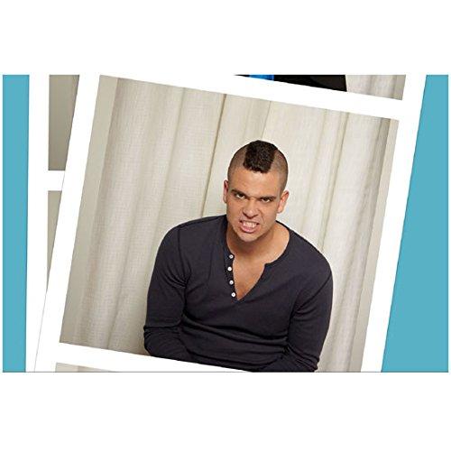 Puck Teeth - Glee Mark Salling as Puck gritting teeth photobooth shot 8 x 10 Inch Photo