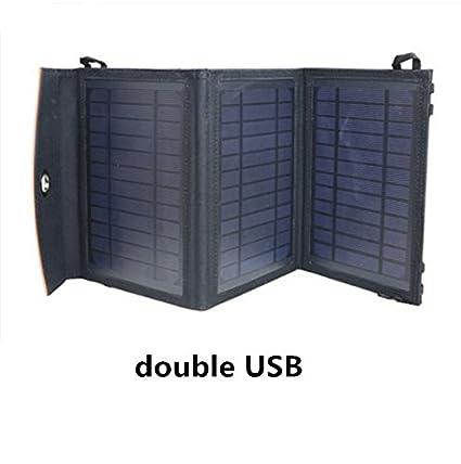 Cargador solar portátil de alimentación de ultrafina funda ...