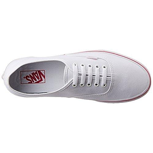b726669a3bb7 Vans Unisex Authentic (I Love Boys) True White Beet Purple Skate Shoe Size