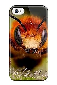 Nannette J. Arroyo's Shop Hot New Macro Bee Skin Case Cover Shatterproof Case For Iphone 4/4s