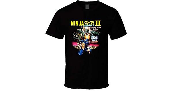 Ninja Gaiden 2 NES Box Art Retro Video Game T Shirt | Amazon.com