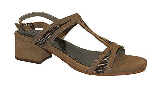 Apepazza - Stella Camoscio, Sandalo tacco 5 cm