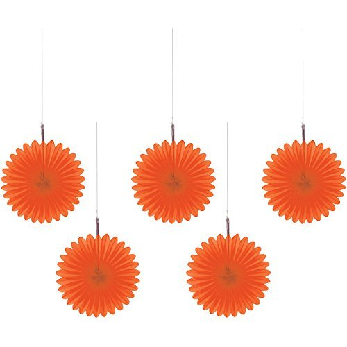 orange peel mini hanging fans