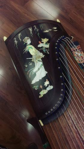 Dunhuang Yun Concert Grade Black Walnut Guzheng
