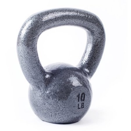 CAP Barbell Cast Iron Kettlebell Tone Fitness Weight Training and Exercise Equipment- 45lbs by CAP Barbell (Image #4)