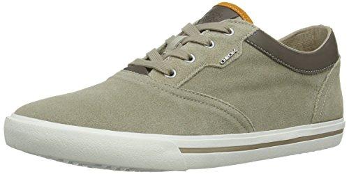 Geox Smart F, Sneakers da Uomo (Multicolore (Sand/Taupe))