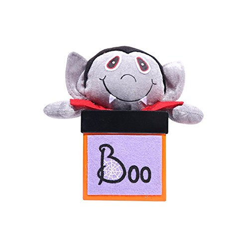 Kanggest Halloween Creative Doll Candy Box Decoration Ghost Festival Mall Hotel Kindergarten Gift Box Cookie Jar for $<!--$5.00-->