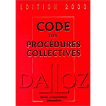 Code des procédures collectives 2000