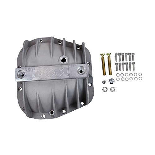 B&M 40298 Differential Cover, Aluminum, Rear End