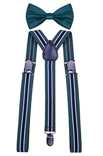 Black Leather Green Stripe - 4