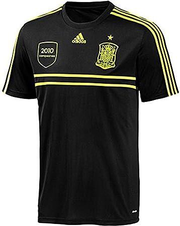 adidas 2ª Equipación España Mundial 2014 43693: Amazon.es: Deportes y aire libre