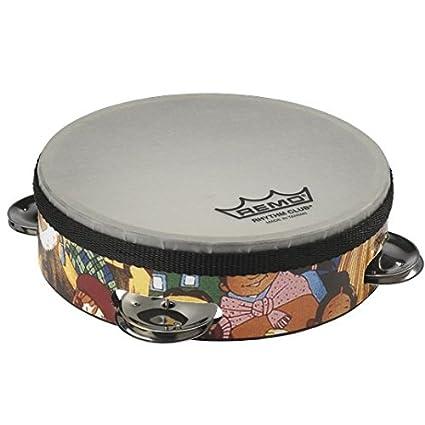 amazon com remo rh 2106 00 rhythm club tambourine rhythm kids 6
