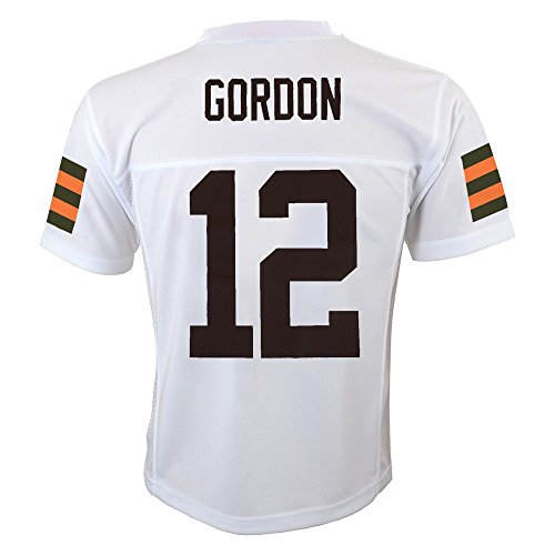 ad7e68825 ... OuterStuff Josh Gordon NFL Cleveland Browns Mid Tier Replica Away White  Jersey Youth (S-XL). 🔍. Apparel