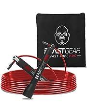 Beast Gear - Beast Rope Pro professionele springtouw - Speed Rope voor fitness, uithoudingsvermogen en afvallen. Ideaal voor crossfit, boksen, MMA, HIIT, intervaltraining & Double Unders