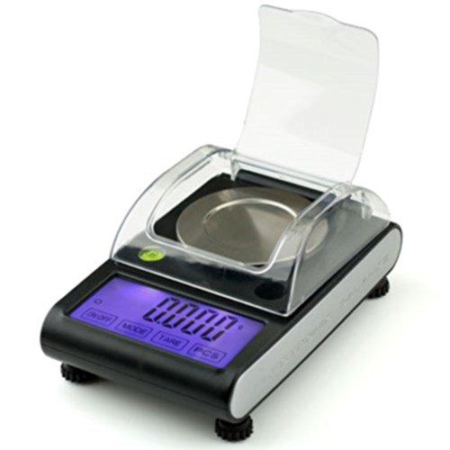 American Weigh Scales ZEO-50 Zeo Black 50 x 0.001G Miligram Scale