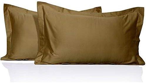 Euro size 26 x 26 2pc Pillow Sham soft 100/% Egyptian Cotton White Solid
