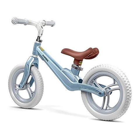 Bicicleta de Equilibrio para niños sin Pedales Bicicleta de Equilibrio de Dos Ruedas Rueda Inflable Espuma