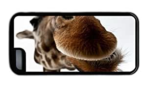 Hipster amazing for iphone 4/4s case Giraffe Lips TPU Black for Apple for iphone 4/4s