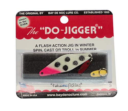 Do-Jigger, Size 3, Two Packs Custom Painted Glow Bloody Nose Made in USA #3DJGBN