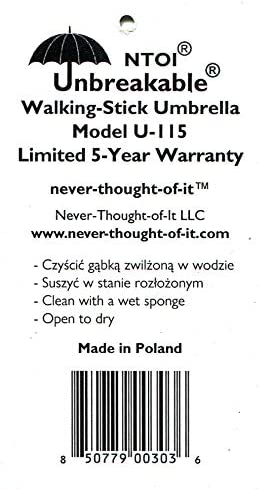 Unbreakable Umbrella U-115