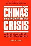 China's Environmental Crisis, Vaclav Smil, 1563240416