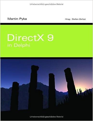 DirectX 9 in Delphi.