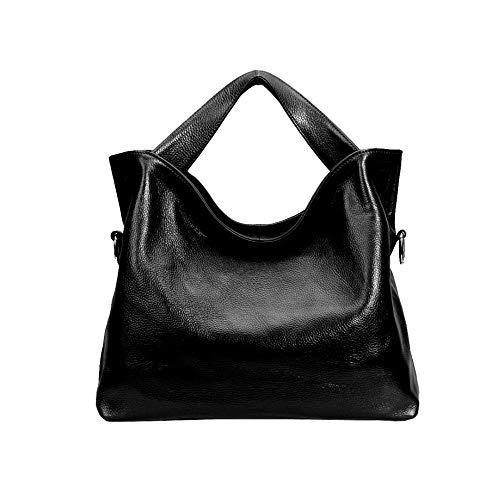 Fashion Casual Style Women's Handbag, Elegant Handbag, Messenger Bag, Leather, Multi-function Pocket Design: Plug, Book, Wallet, Etc, 35 X 12 X 28 CM, Orange Black