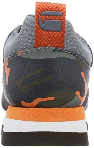 G-star Raw Damen Deline Aop Sneaker Arancione (arancione Fiammante / Asfalt Aop 9276)