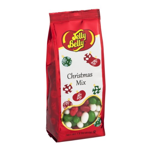 Jelly Belly Christmas Mix Jelly Beans 7.5 Ounce Gift Bag
