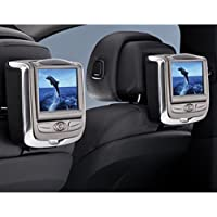 BMW dual rear seat entertainment system for X6 vehicles - Black